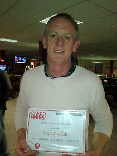 February - Div 2 - Neil Baker
