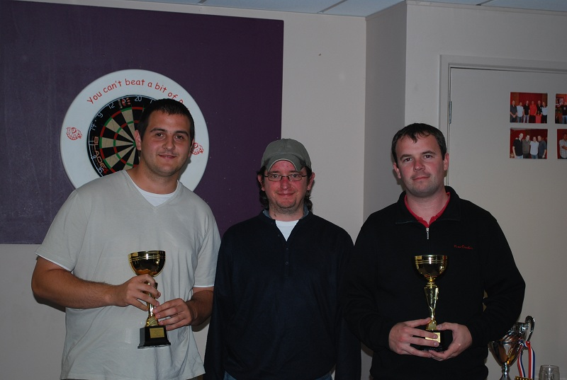 Doubles Wiiners - Craig Marsh and Phil Bolter