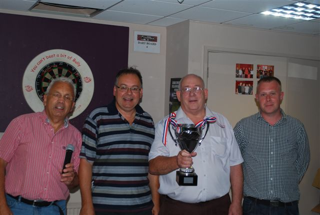 Presentation Team Challenge Winners - Chris Rice, Norman Byng & Richard Aldred